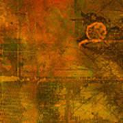 Landscape Of Mars Poster