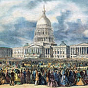 Lincoln Inauguration, 1865 Poster