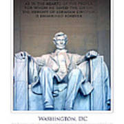 Lincoln Memorial Poster by Jim McDonald Photography