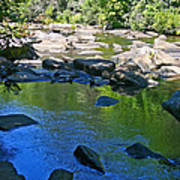 Little River Deep Pool Poster
