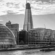 London Assembly and Shard Poster