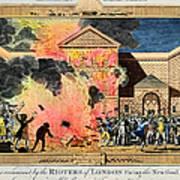 London: Gordon Riots, 1780 Poster