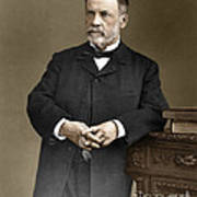 Louis Pasteur, French Chemist Poster by Omikron