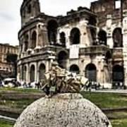 love locks in Rome Poster