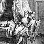 Lovers, 18th Century Poster