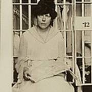 Lucy Burns 1879-1966, In A Jail Poster by Everett