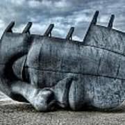 Maritime Memorial Cardiff Bay Poster