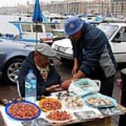 Marseilles Fishermen Poster