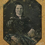 Mary Todd Lincoln, First Lady Poster by Photo Researchers
