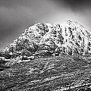 Meall Dearg Mountain At Glencoe Scotland Poster