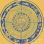 Medieval Zodiac Poster