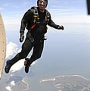 Member Of The U.s. Army Golden Knights Poster