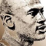 Michael Jordan In 1990 Poster