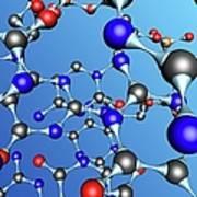 Molecule, Artwork Poster