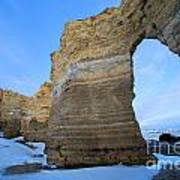 Monument Rocks Arch Poster