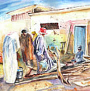 Moroccan Market 02 Poster