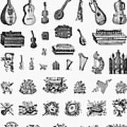Musical Instruments Poster by Granger