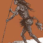 Native American Shaman Poster