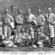 New York Baseball Team Poster