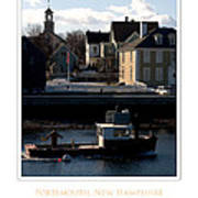 Nh Working Harbor Poster by Jim McDonald Photography