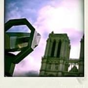 Notre Dame De Paris. France Poster