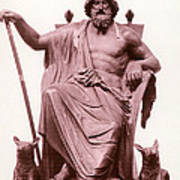 Odin, Norse God Poster by Photo Researchers
