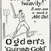 Ogdens Cigarettes, 1897 Poster