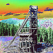 Old Mining Structure Poster