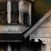 Old Victorian House Detail Poster by Jill Battaglia