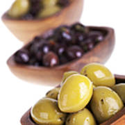 Olive Bowls Poster by Jane Rix