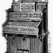 Organ, 19th Century Poster