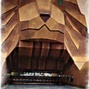 Original Mgm Grand Lion 1994 - Impressions Poster