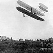 Orville Wright In Wright Flyer, 1908 Poster