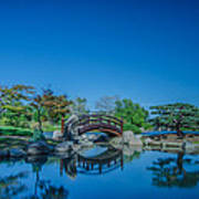 Osaka Garden Pond Poster