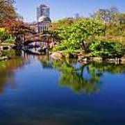 Osaka Japanese Garden Poster by Jonah  Anderson