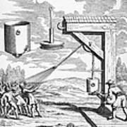 Otto Von Guericke, 1672 Poster