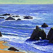 Pacific Solitude Poster