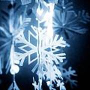 Paper Snowflake Poster