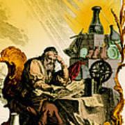 Paracelsus, Swiss Polymath Poster