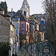 Parisian Street Scene Poster