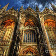 Peterborough Cathedral Poster
