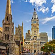 Philadelphia City Hall  Poster