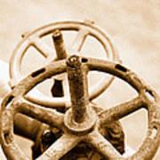 Pipeline Valves Poster by Gaspar Avila