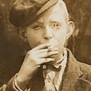 Portrait Of A Boy Smoking, Original Poster by Everett