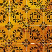 Portuguese Tiles Poster