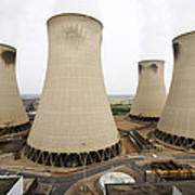Power Station Cooling Towers Poster