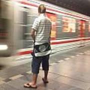Prague Metro Poster