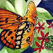 Precocious Butterfly Poster