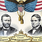 Presidential Campaign, 1868 Poster