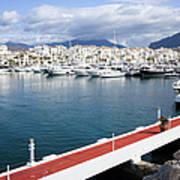 Puerto Banus In Spain Poster
